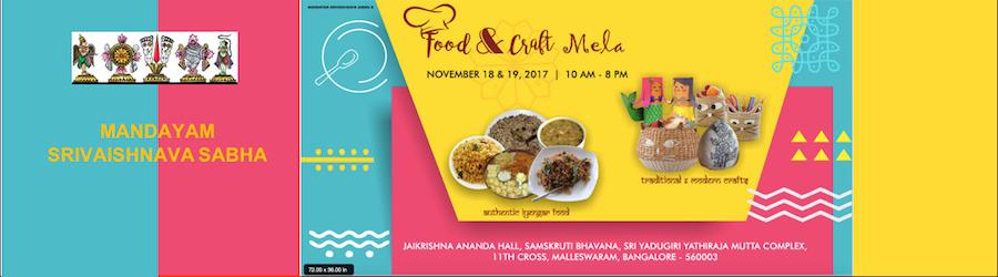 Food and Craft Mela Banner
